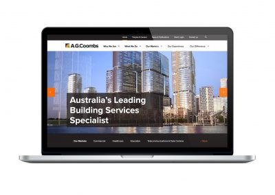 A.G. Coombs Branding and Website
